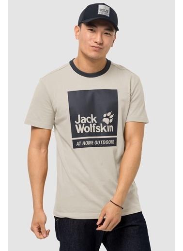 Jack Wolfskin Jack Wolfskin 365 Thunder T M Erkek Tişört 1807711-5505 1807711-550521 Bej